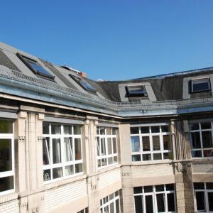 H48 Fabrikgebäude Dach