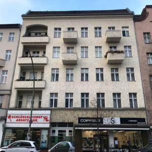 Die Fassade der Hermannstraße 48