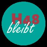 Logo mit dem Schriftzug H48 bleibt